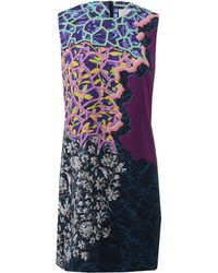 Peter Pilotto Printed Sheath Dress - Lyst