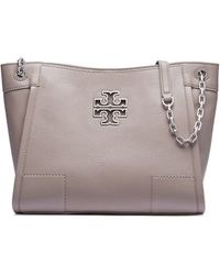 Tory Burch - Britten Small Slouchy Tote - Lyst