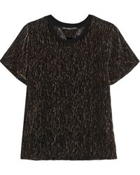 Theyskens' Theory Bichel Devorãvelvet Top - Lyst