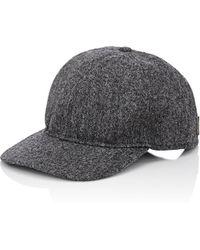 918fc34581a Borsalino - Men s Tweed Baseball Cap - Lyst