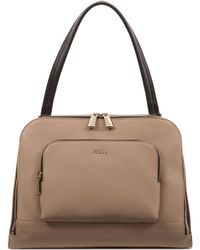 Furla Frida M Leather Shoulder Bag - Lyst