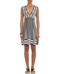 Thakoon Deco-pattern Compact-knit Tank Dress - Lyst