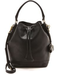 Madewell Bucket Bag True Black - Lyst