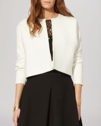 Maje Cardigan - Miel Cropped - Lyst
