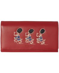 Radley March The March Red Large Flapover Matinee Purse - Lyst