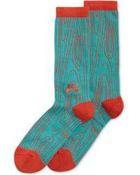 Nike Sb Dri-fit Woodgrain Performance Crew Socks - Lyst