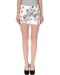 Pierre Balmain Denim Shorts - Lyst