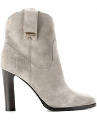 Burberry Brit - Finghin Suede Ankle Boots - Lyst
