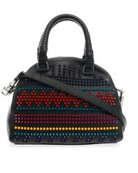 Christian Louboutin Panettone Studded Tote black - Lyst