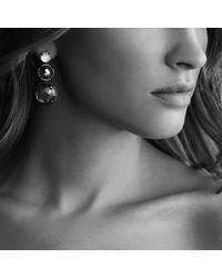 David Yurman Triple-Drop Earrings - Lyst
