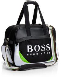 BOSS Green - Galic-X   Nylon Logo Weekender Bag - Lyst