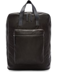 Ann Demeulemeester | Black Leather Backpack | Lyst
