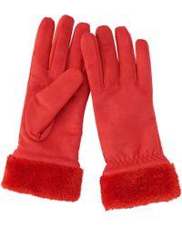 Uniqlo - Women Suede Touch Gloves - Lyst