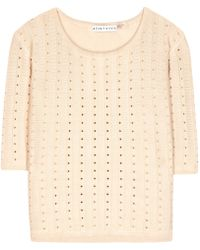Alice + Olivia Berane Knitted Top - Lyst