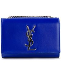 Saint Laurent Mini Classic Monogram Satchel - Lyst