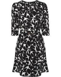 Oasis Border Bird Tegan Dress - Lyst