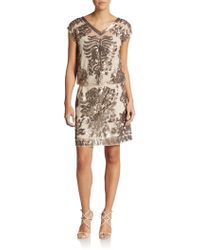 Sachin & Babi Amara Sequined Blouson Dress - Lyst