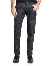 Ralph Lauren Black Label Slim-Fit Camo Jeans - Lyst