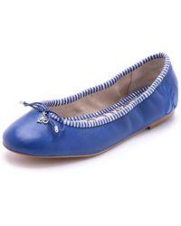 Sam Edelman Felicia Flats - Indigo Blue - Lyst