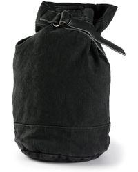 Yohji Yamamoto - Single Strap Backpack - Lyst 917c4828df