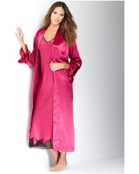 Oscar de la Renta - Pink Label Long Robe - Lyst