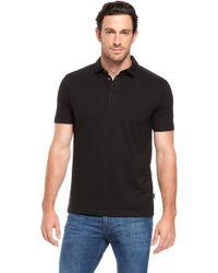 Hugo Boss Fontana Regular Fit Cotton Layered Placket Polo Shirt - Lyst
