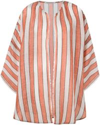 Denis Colomb - Oversized Striped Coat - Lyst