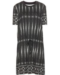 Tory Burch Printed Cotton Dress - Lyst