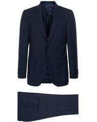 BOSS | T-howard2/court 4 Micro Check Slim Fit Suit | Lyst