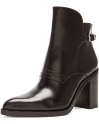 Alexander Wang Clarice Ankle Leather Booties - Lyst
