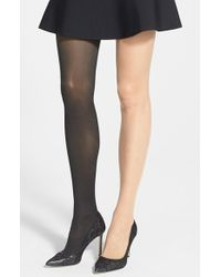 Wolford Black Image' Tights - Lyst
