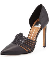 Dolce Vita Kisa Leather Pump - Lyst