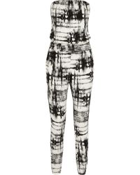 Tart Collections Danika Printed Stretch-Modal Jumpsuit - Lyst
