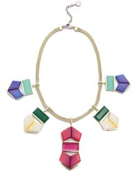 Gemma Redux - Flora Rainbow Necklace - Rainbow - Lyst