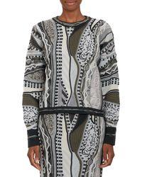 Rag & Bone Coogi Mixedpattern Knit Sweater - Lyst