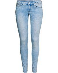 H&M Super Skinny Super Low Jeans - Lyst