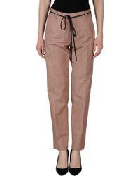 Dries Van Noten Casual Pants brown - Lyst