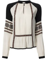 Day Birger Et Mikkelsen Folk Tunic Blouse - Lyst