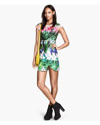 H&M Scuba Dress - Lyst