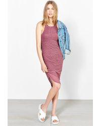 Sparkle & Fade Ribbed Racerback Tank Dress - Lyst