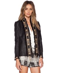 Rachel Zoe Clarissa Grommet Jacket - Lyst