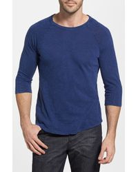 Alternative Apparel Long Sleeve Slub Cotton T-Shirt - Lyst