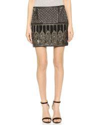 Club Monaco Zelphia Skirt - Black - Lyst