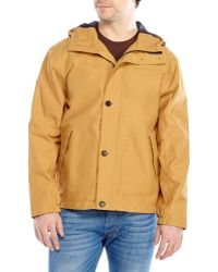 Timberland Hooded Bomber Jacket - Lyst