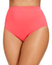 La Blanca Plus Size Highwaist Swim Brief Bottom - Lyst