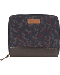Ted Baker - Camo Print Tablet Case - Lyst