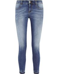 Stella McCartney The Skinny Cropped Midrise Jeans - Lyst