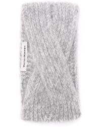 White + Warren - Cashmere Headband - Lyst