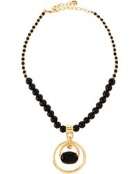 R.j. Graziano - Graduated Round Pendant Necklace - Lyst