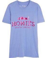 Brian Lichtenberg - Homiés Cotton T-Shirt - Lyst